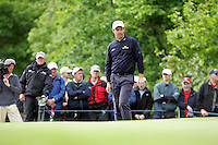 Padraig Harrington on the 12th green during the third round of the Irish Open on 19th of May 2007 at the Adare Manor Hotel & Golf Resort, Co. Limerick, Ireland. (Photo by Eoin Clarke/NEWSFILE)..