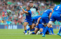 090819 | Ireland vs Italy<br /> <br /> Guglielmo Palazzani during Ireland's RWC warm up game against Italy at the Aviva Stadium, Lansdowne Road, Dublin, Ireland. Photo by John Dickson - DICKSONDIGITAL