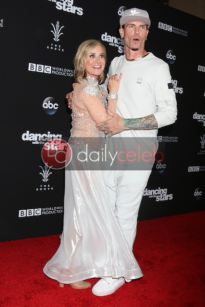 "Maureen McCormick, Vanilla Ice<br /> at the ""Dancing With The Stars"" Live Finale, The Grove, Los Angeles, CA 11-22-16<br /> David Edwards/DailyCeleb.com 818-249-4998"
