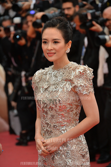 "CANNES, FRANCE. May 20, 2019: Zhang Ziyi  at the gala premiere for ""La Belle Epoque"" at the Festival de Cannes.<br /> Picture: Paul Smith / Featureflash"