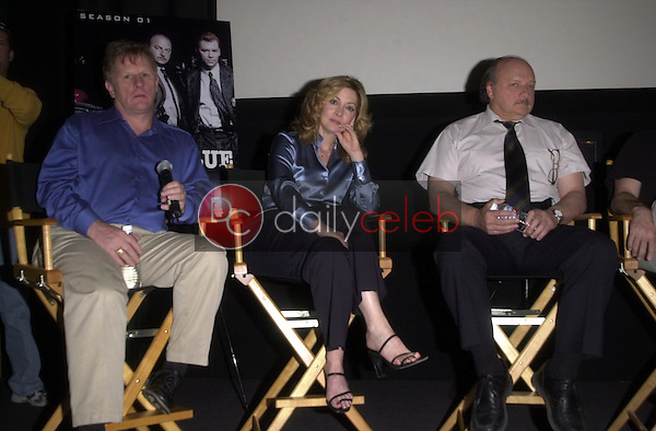 Gordon Clapp and Sharon Lawrence and Dennis Franz