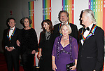 John Paul Jones, Robert Plant and Jimmy Page, (Led Zepplin) with guests attending the 35th Kennedy Center Honors at Kennedy Center in Washington, D.C. on December 2, 2012