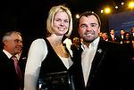Die deutsche Schwimmerin Britta Steffen beendet ihre Karriere - Archiv aus  08.12.2007<br />  <br /> Champions 2007<br /> Britta Steffen und Sven Ottke<br />  <br /> <br />   <br /> Foto &copy; nph /  Schulz