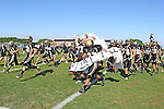 Palos Verdes CA 10/22/10 - The Peninsula Panther team takes the field.