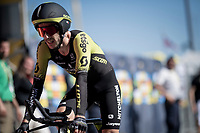 Adam Yates (GBR/Mitchelton-Scott) rolling over the finish line<br /> <br /> Stage 13 (ITT): Pau to Pau (27km)<br /> 106th Tour de France 2019 (2.UWT)<br /> <br /> ©kramon