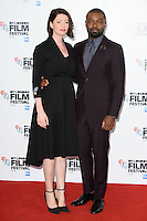 "Jessica and David Oyelowo<br /> at the London Film Festival photocall for the opening film, ""A United Kingdom"", Mayfair HotelLondon.<br /> <br /> <br /> ©Ash Knotek  D3159  05/10/2016"
