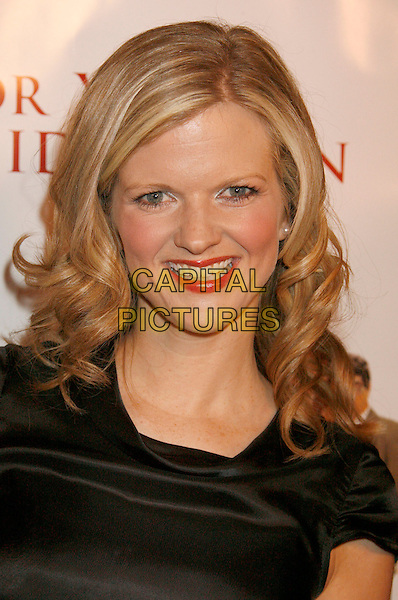 "ARDEN MYRIN.""For Your Consideration"" Los Angeles Premiere held at the Directors Guild Of America, West Hollywood, California, USA..November 13th, 2006.Ref: ADM/RE.headshot portrait .www.capitalpictures.com.sales@capitalpictures.com.©Russ Elliot/AdMedia/Capital Pictures."