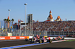 Jean Eric Vergne [FRA] Scuderia Toro Rosso - Daniil Kvyat (RUS) Scuderia Toro Rosso<br /> for the complete Middle East, Austria & Germany Media usage only!<br />  Foto © nph / Mathis