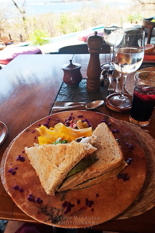 A fresh, organic, locally sourced meal at Morgan's Rock Hacienda and Eco Lodge, Nicaragua