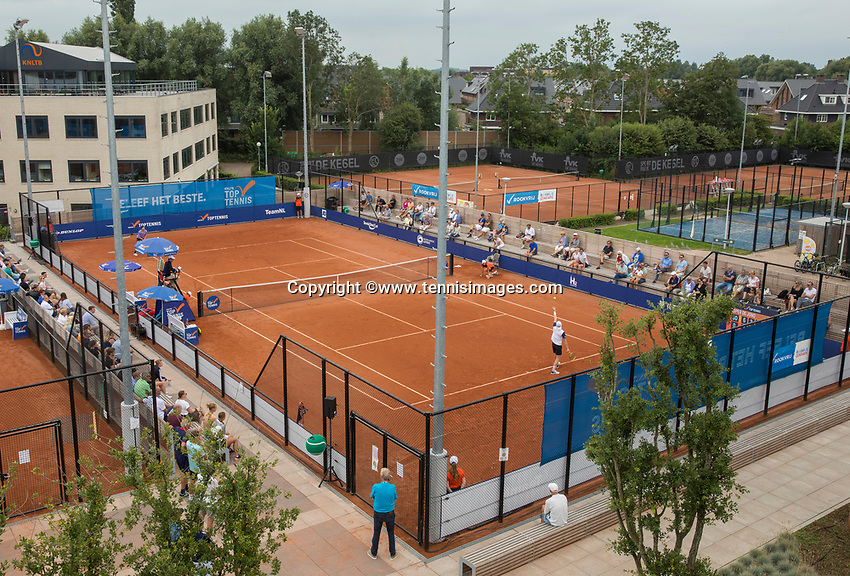 Amstelveen, Netherlands, 1 August 2020, NTC, National Tennis Center, National Tennis Championships, Men's final: Overall vieuw<br /> Photo: Henk Koster/tennisimages.com