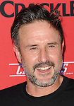 David Arquette arriving at Crackle Presents: Premieres for Sequestered and Cleaners, held at 1 OAK Los Angeles, Ca. on August 14, 2014.