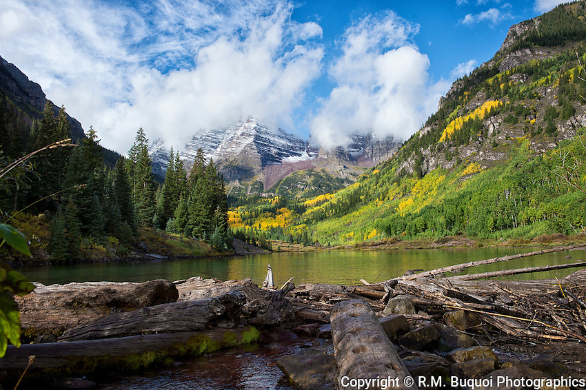 Maroon Bells near Aspen, Colorado