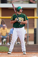 North Dakota State Bison infielder Ben Herauf #34 during a game against the Pennsylvania Quakers at Henley Field on March 11, 2012 in Lakeland, Florida.  North Dakota State defeated Pennsylvania 15-3.  (Mike Janes/Four Seam Images)