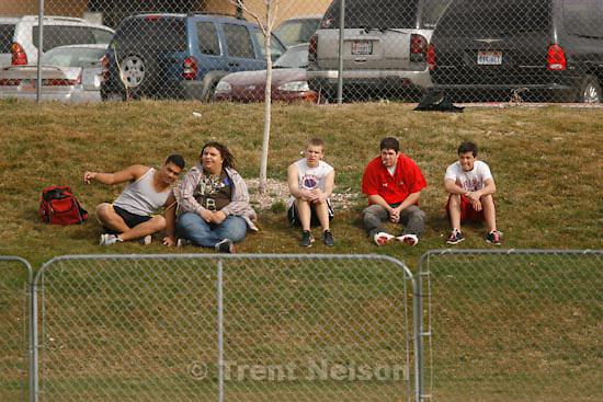 Trent Nelson  |  The Salt Lake Tribune.Springville - Springville vs. Bingham high school softball Thursday, March 18, 2010. fans
