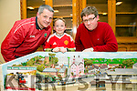 The Kerry Model Railway, Blenervile,  Seamus Murphy, Darragh Murphy and Brendan O'Brien at the Curraheen Community Council and surrounding areas activities and local voluntary groups showcase info evening on Tuesday