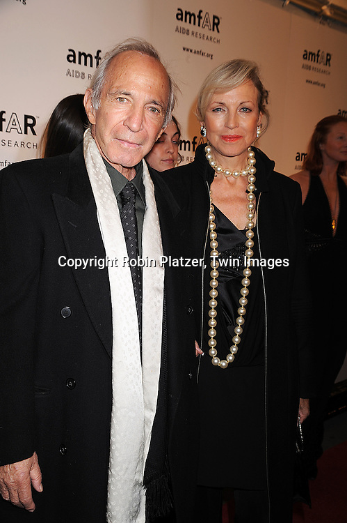 Ben Gazzara and wife Elke.posing for photographers at The amFAR New York Gala honoring Julian Schnabel, Carine Roitfeld and Bobby Shriver on January 31, 2008 at Cipriani 42nd Street. ..Robin Platzer, Twin Images..212-935-0770