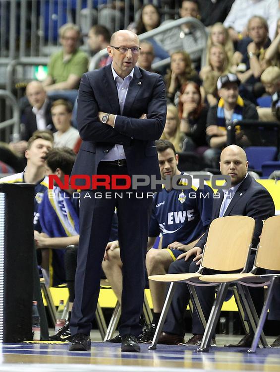15.05.2015, O2 world, Berlin, GER, 1.BBL, ALBA Berlin vs. EWE Baskets Oldenburg, im Bild Mladen Drijencic (Baskets Oldenburg)<br /> <br />               <br /> Foto &copy; nordphoto /  Engler