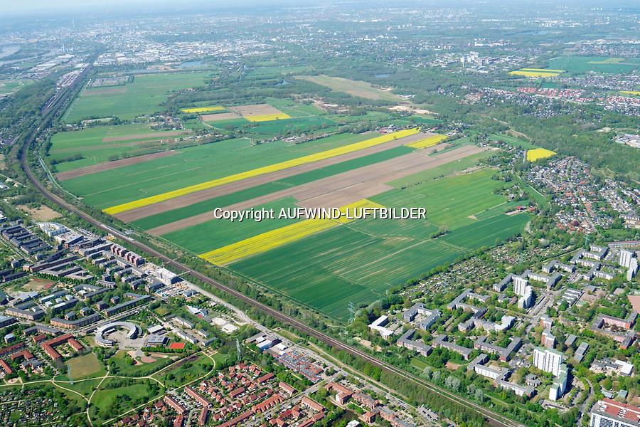 Oberbillwerder: EUROPA, DEUTSCHLAND, HAMBURG 25.04.2018: Oberbillwerder