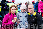 Helen, Meah and Ronan Falvey, The Spa, Tralee, pictured at the Operation Transformation Walk at Tralee Bay Wetlands on Saturday morning last.