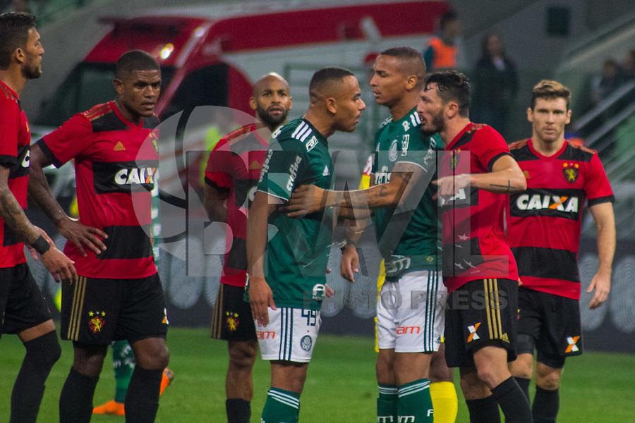 SÃO PAULO,SP, 26.05.2018 – Palmeiras - Sport – Papagaio do Palmeiras durante partida contra o Sport, válido pela oitava rodada do Brasileiro 2018, no Allianz Parque em São Paulo, na noite deste sabado, 26. (Foto: Danilo Fernandes/Brazil Photo Press)