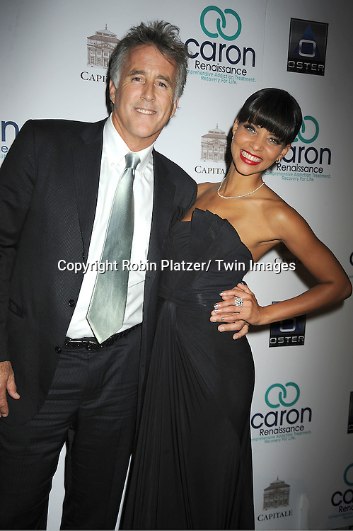 "Christopher Lawford  and Denise Vasi attends 3rd Annual Caron Renaissance ""Save A Life"" .Benefit on October 17, 2011 at Capitale in New York City."