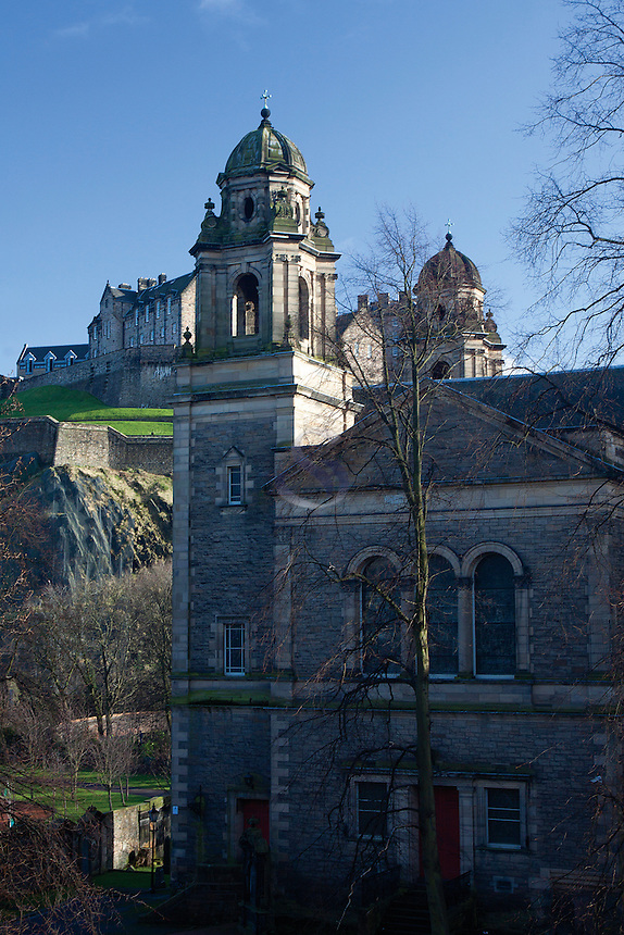 St Cuthbert's Church, Princes Street Gardens, Edinburgh, Lothian