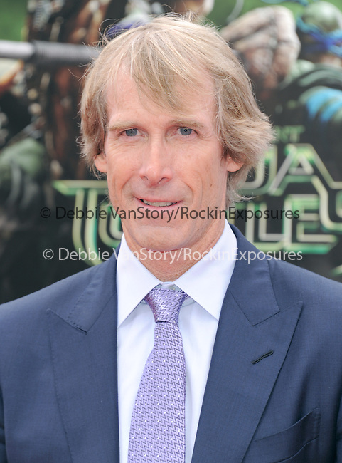 Michael Bay attends The Paramount Pictures and Nickelodeon Movies Los Angeles premiere of TEENAGE MUTANT NINJA TURTLES at the Regency Village Theater in Westwood, California on August 03,2014                                                                               © 2014 Hollywood Press Agency