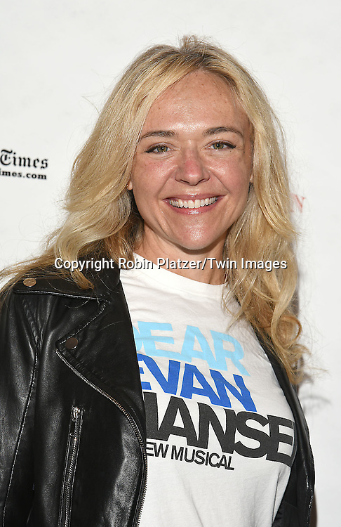 Rachel Bay Jones attends the Broadway Cares/Equity Fights Aids Flea Market and Grand Auction on September 25, 2016 at the Music Box Theatre and in Shubert Ally in New York, New York, USA. <br /> <br /> photo by Robin Platzer/Twin Images<br />  <br /> phone number 212-935-0770