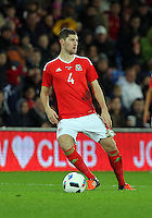 Ben Davies of Wales during the Wales v Netherlands  International Friendly, at Cardiff City Stadium, Cardiff, Wales, United Kingdom, 13 November 2015.