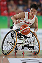 Renshi Chokai (JPN),<br /> SEPTEMBER 11, 2016 - Wheelchair Basketball : <br /> Preliminary Round Group A<br /> match between Japan - Canada<br /> at Rio Olympic Arena<br /> during the Rio 2016 Paralympic Games in Rio de Janeiro, Brazil.<br /> (Photo by Shingo Ito/AFLO)