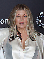NEW YORK, NY - MAY 15: Fergie at The Paley Honors: A Gala Tribute To Music On Television at Cipriani Wall St in New York City . on May 15, 2018. <br /> CAP/MPI99<br /> &copy;MPI99/Capital Pictures