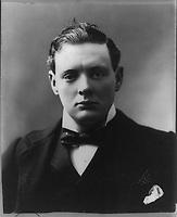 circa 1900 - Sir Winston Leonard Spencer Churchill, 1874-1965