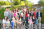 Jonathon Fitzgerald,originally from Tralee and his wife of 4 years Mar from New York,where they were married(both seated centre)renewed their marriage vowels in St Brendan's Church,Tralee last Saturday afternoon and after to family celebration in the Meadowlands hotel,Tralee.