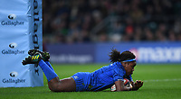 28th December 2019; Twickenham, London, England; Big Game 12 Womens Rugby, Harlequins versus Leinster; Linda Djougang of Leinster scores her try - Editorial Use