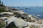 Rocky Atlantic Coast in Maine, USA