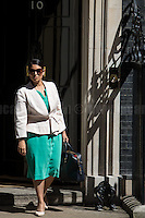 Priti Patel MP (Secretary of State for International Development).<br />