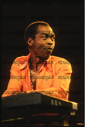 FELA KUTI - performing live in Paris France - <br /> 13 Sep 1986. Photo <br /> Credit : Guy Ferrandis/Dalle/IconicPix