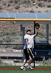during the No Crying in Softball tournament at Golden Eagle Regional Parks in Sparks, NV.