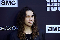 """LOS ANGELES - OCT 22:  Nick Simmons at the """"The Walking Dead"""" 100th Episode Celebration at the Greek Theater on October 22, 2017 in Los Angeles, CA"""