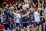 Freude bei Patrick Wiencek, (THW Kiel #17) / Domagoj Duvnjak, (THW Kiel #4) / TVB 1898 Stuttgart - THW Kiel / DHB Pokal Viertelfinale / HBL / 1.Handball-Bundesliga / SCHARRrena / Stuttgart Baden-Wuerttemberg / Deutschland beim Spiel im DHB Pokal Viertelfinale, TVB 1898 Stuttgart - THW Kiel.<br /> <br /> Foto © PIX-Sportfotos *** Foto ist honorarpflichtig! *** Auf Anfrage in hoeherer Qualitaet/Aufloesung. Belegexemplar erbeten. Veroeffentlichung ausschliesslich fuer journalistisch-publizistische Zwecke. For editorial use only.