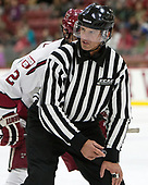 Todd Whittemore - The Harvard University Crimson defeated the visiting Cornell University Big Red on Saturday, November 5, 2016, at the Bright-Landry Hockey Center in Boston, Massachusetts.