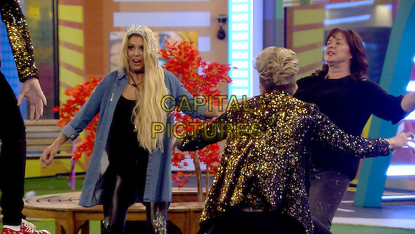 Celebrity Big Brother 2017<br /> Jedward, Bianca Gascoigne, Coleen Nolan<br /> *Editorial Use Only*<br /> CAP/KFS<br /> Image supplied by Capital Pictures