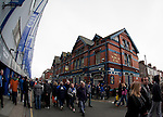 Everton 2 Wolves 1, 19/11/2011. Goodison Park, Premier League. The Wilmslow pub, Goodison Street. Photo by Paul Thompson.