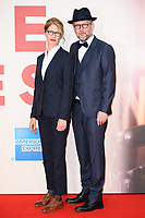 Directors Valerie Faris &amp; husband, Jonathan Drayton at the London Film Festival 2017 screening of &quot;Battle of the Sexes&quot; at the Odeon Leicester Square, London, UK. <br /> 07 October  2017<br /> Picture: Steve Vas/Featureflash/SilverHub 0208 004 5359 sales@silverhubmedia.com