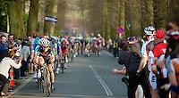 E3 Prijs Harelbeke 2012.Fabian Cancellara pulling on the Tiegemberg