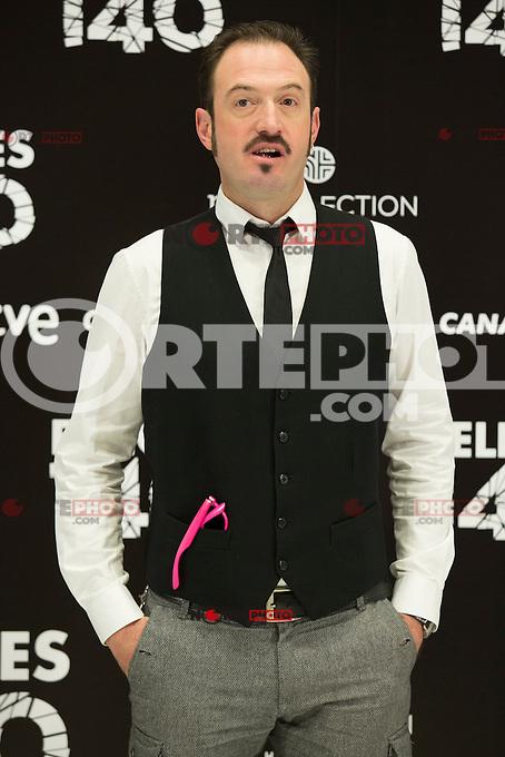 "Alex Odogherty attend the Presentation of ""Happy 140"" (Felices 140) Movie at Eurobuilding Hotel, Madrid,  Spain. April 07, 2015.(ALTERPHOTOS/)Carlos Dafonte) /NORTEphoto.com"