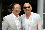 John Yoon, Christopher Yin==<br /> LAXART 5th Annual Garden Party Presented by Tory Burch==<br /> Private Residence, Beverly Hills, CA==<br /> August 3, 2014==<br /> &copy;LAXART==<br /> Photo: DAVID CROTTY/Laxart.com==