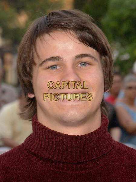 JASON RITTER.attends the New Line Cinema L.A. Screening of Elf held at The Grove Theater. .portrait, headshot.www.capitalpictures.com.sales@capitalpictures.com.©Capital Pictures.