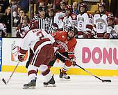 Reese, Ryan Ginand (NU - 3) - The Northeastern University Huskies defeated the Harvard University Crimson 3-1 in the Beanpot consolation game on Monday, February 12, 2007, at TD Banknorth Garden in Boston, Massachusetts.