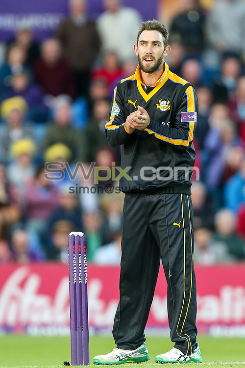Picture by Alex Whitehead/SWpix.com - 05/06/2015 - Cricket - NatWest T20 Blast - Yorkshire Vikings v Lancashire Lightning - Headingley Cricket Ground, Leeds, England - Yorkshire's Glenn Maxwell.